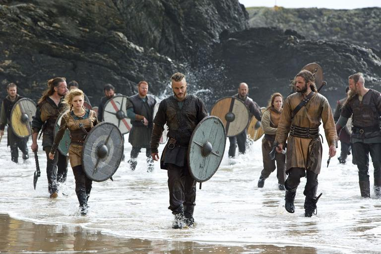 "From the new History channel series ""Vikings"""