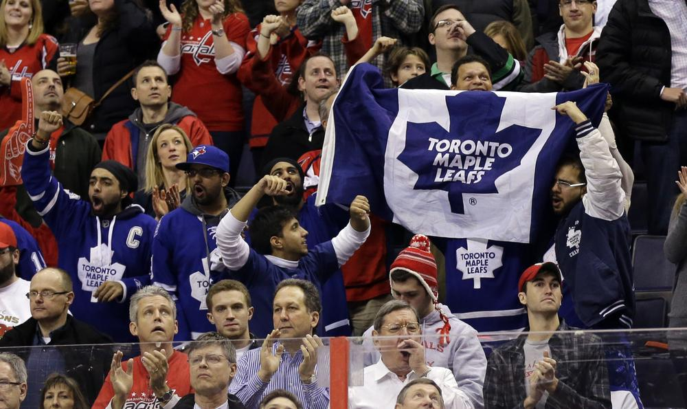 Despite a prolonged lockout, hockey fans have returned to NHL arenas this season in growing numbers. (Alex Brandon/AP)