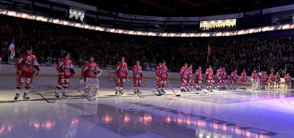 Tragedy struck in 2011, but Lokomotiv Yaroslavl of the KHL had success on the ice this season. (Photo Agency KHL/AP)