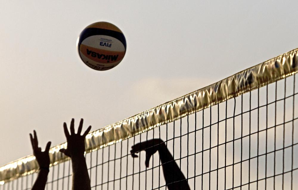 NPR contributor Elissa Ely comments on watching her daughter's volleyball pratice. (Ariel Schalit/AP)
