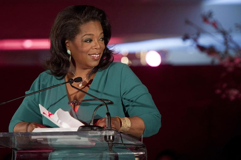 Winfrey, who has used her success to promote charitable works, will be the principal speaker at the afternoon exercises at Harvard's 362nd commencement in May. (Charles Sykes/AP)