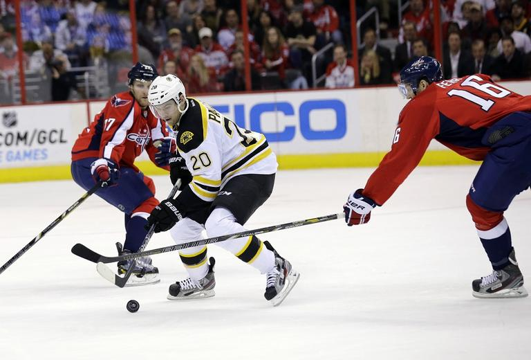 The Capitals won 4-3 in overtime. (Alex Brandon/AP)
