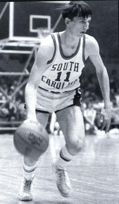 John Roche is pictured playing for the South Carolina Gamecocks. (Courtesy of South Carolina Athletics media relations)