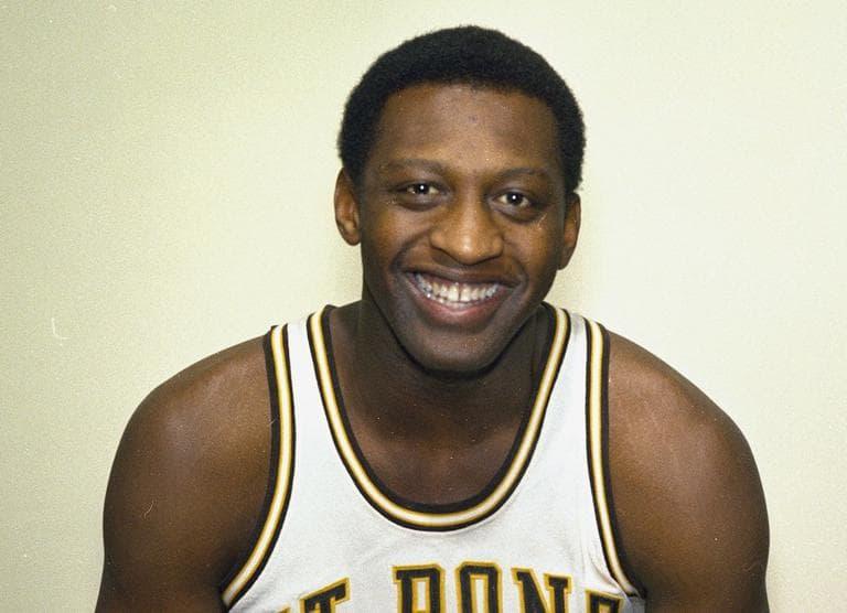 Bob Lanier, basketball star of St. Bonaventure College is seen, 1970. (AP)