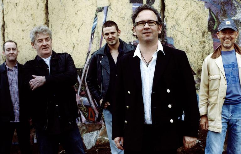 The members of The Saw Doctors: from left, Kevin Duffy, Davy Carlton, Rickie O'Neill, Leo Moran (front) and Anthony Thistlethwaite. (The Saw Doctors)
