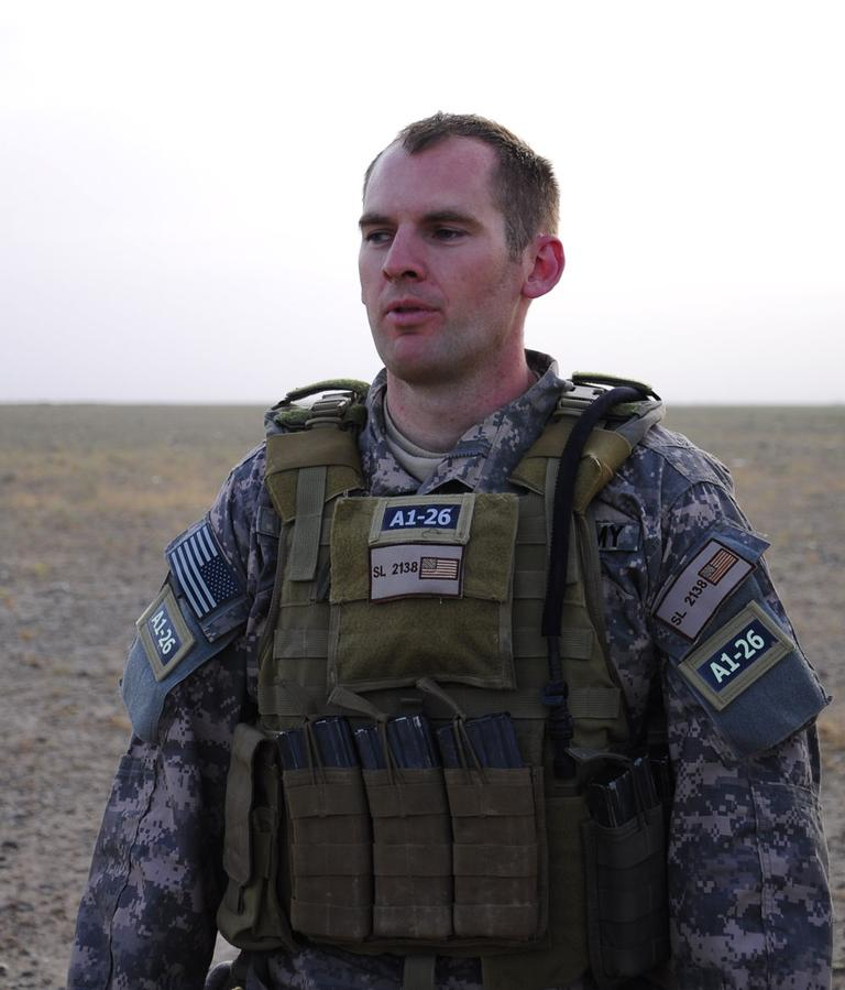 Andrew Slater was an Army infantry and special forces officer in Iraq. (Courtesy Andrew Slater)