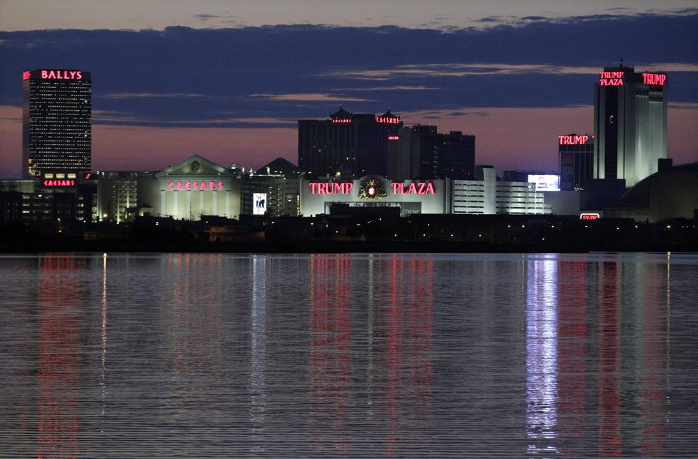 Later this spring, Atlantic City casinos will start taking bets with real money for fantasy sports. (Mel Evans/AP)