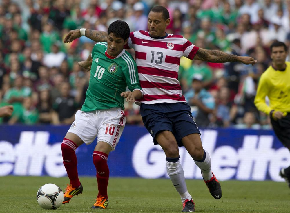 Mexico will be looking for revenge on Tuesday when they play the U.S. Men's Soccer Team, after losing to the Americans last August. (Eduardo Verdugo/AP)