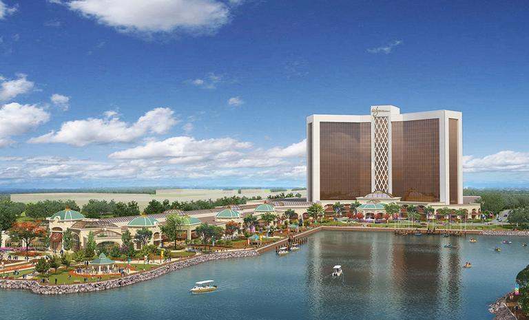 Artist's rendering of the proposed Wynn Harbor Park in Everett (Wynn Resorts Holdings)