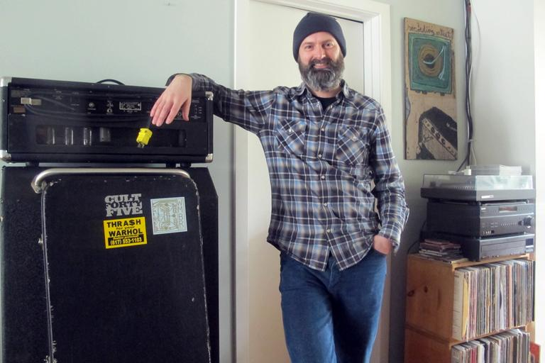 Bassist Bob Maloney. (Andrea Shea/WBUR)