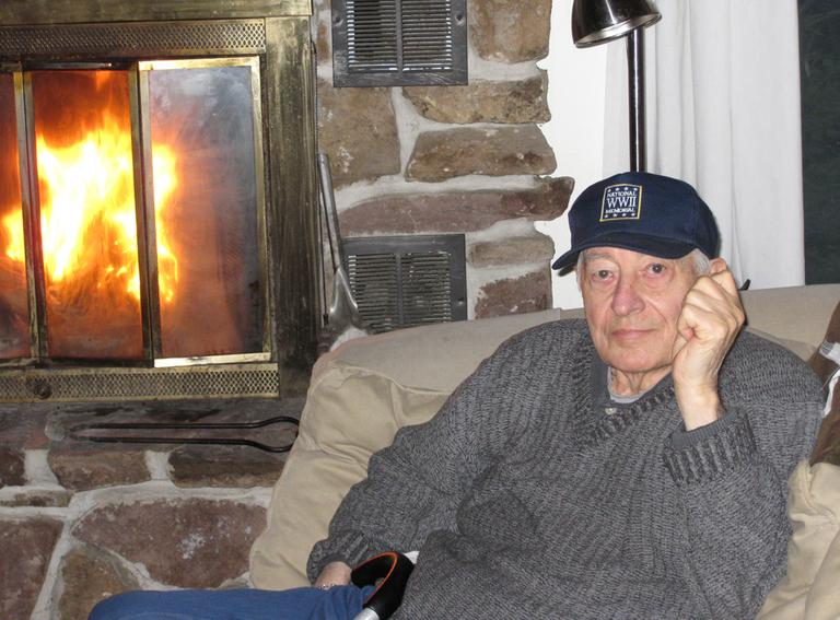 Rene Joyeuse is pictured at his home in Saranac Lake, N.Y. in 2012. (Courtesy Joyeuse family)