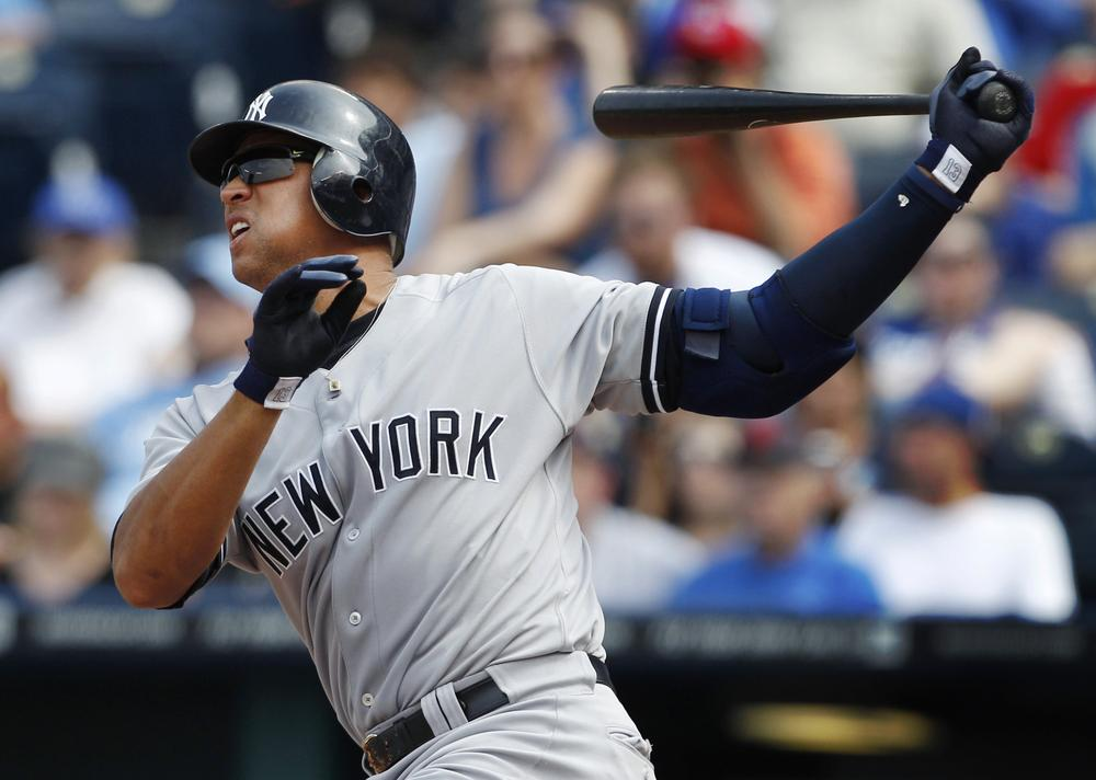 We're not saying Alex Rodriguez gets paid too much, but he'll make more this season than an entire MLB team. (Orlin Wagner/AP)