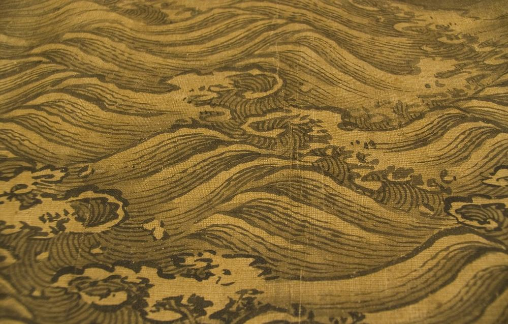 Waves on a Chinese scroll. (hynkle/Flickr)