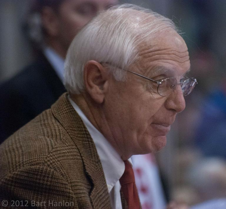 Jack Parker, one of the most winning coaches in college sports, announces his resignation today after 40 years as head coach of the Boston University men's hockey team (Bart Hanlon/Flickr).