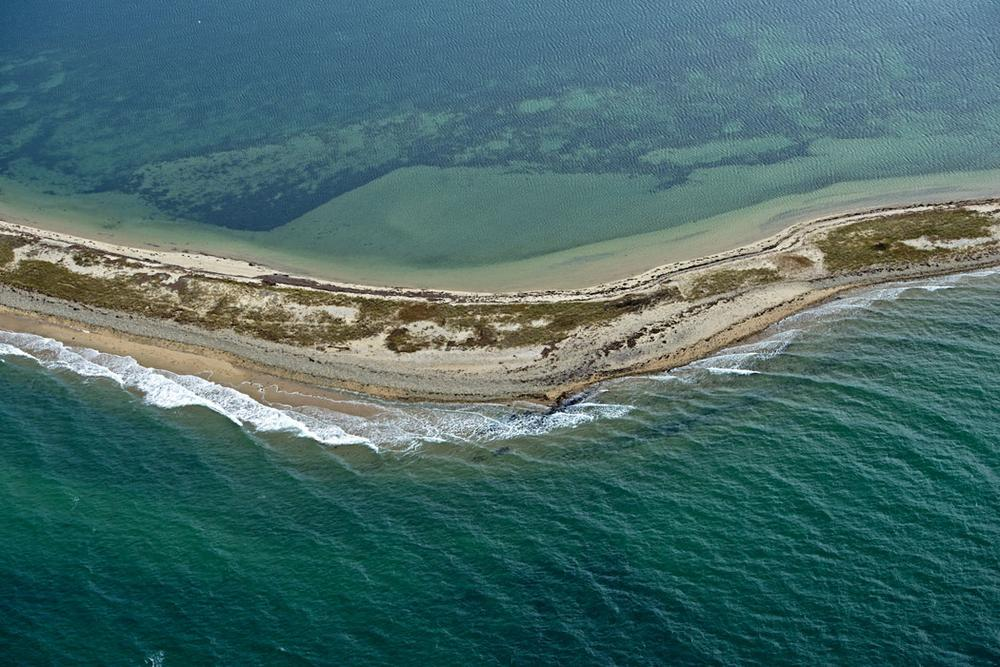 "Neal Rantoul's 2012 photo of Martha's Vineyard from his ""Near But Far Project."" (Courtesy of Rantoul)"