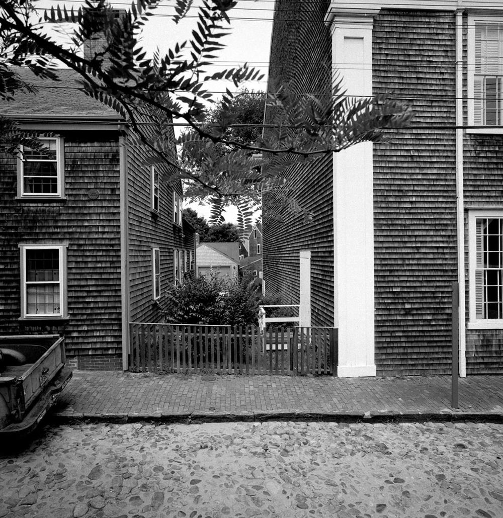 Neal Rantoul's 1980 photo of Nantucket. (Courtesy of Rantoul)