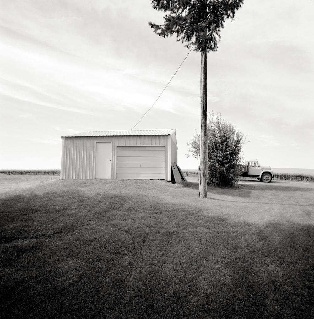 Neal Rantoul's photo of Oakesdale, Washington. (Courtesy of Rantoul)