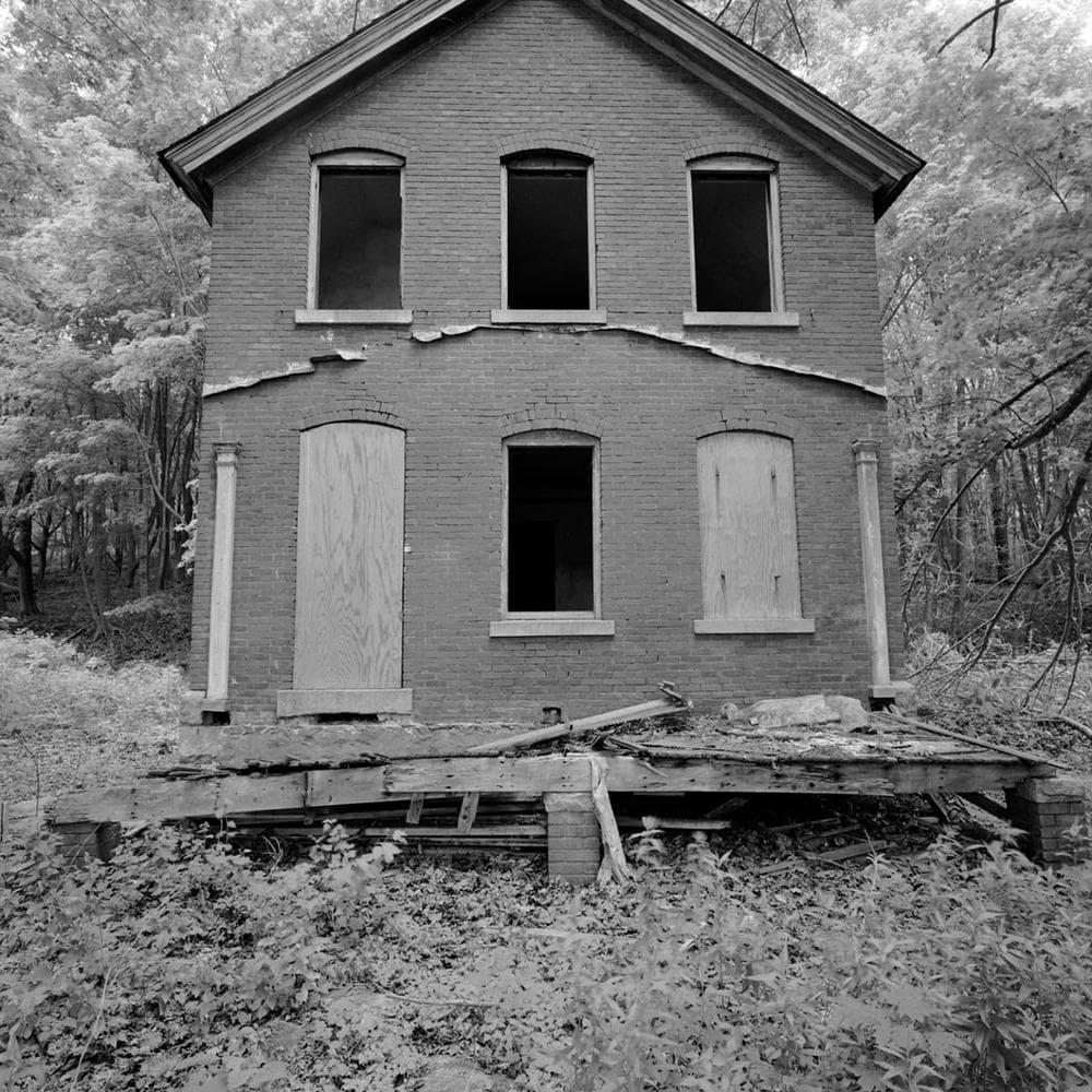 "Neal Rantoul's 2005 photo ""Peddock's Island"" from Boston Harbor. (Courtesy of Rantoul)"