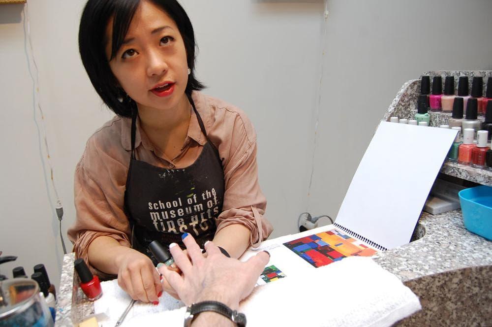 """Victoria Shen gives """"Modernist Manicures."""" (Greg Cook)"""