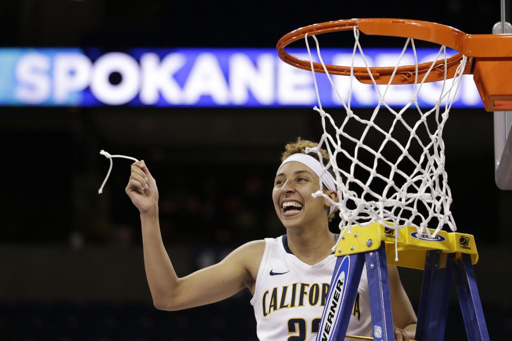 The Cal women's basketball team has reached the Final Four for the first time in program history. (Elaine Thompson/AP)