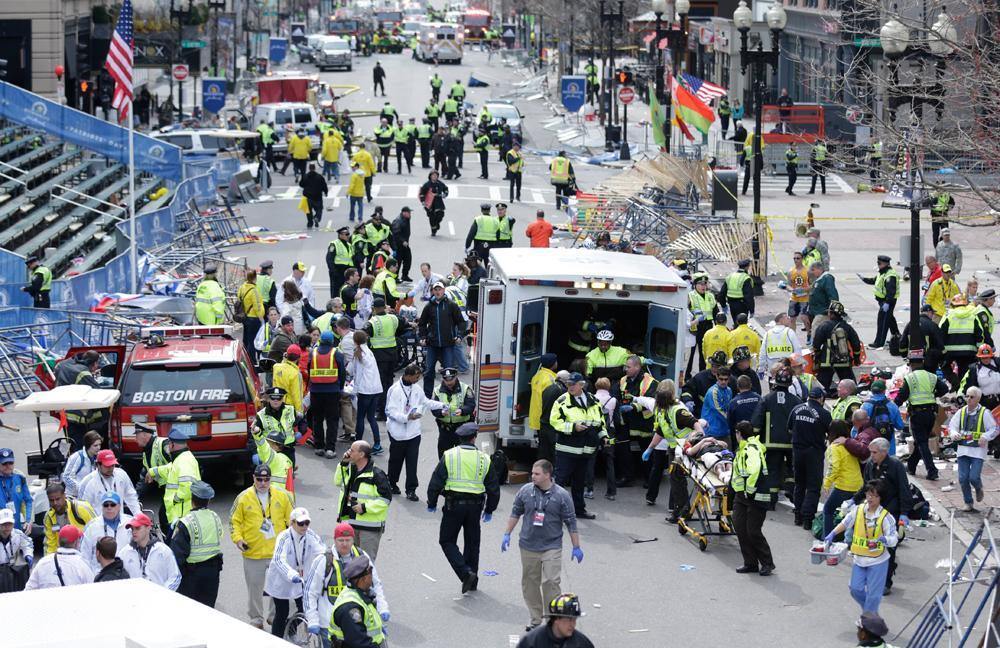 Radio Scans Show Boston Police, Medic Heroics | WBUR News