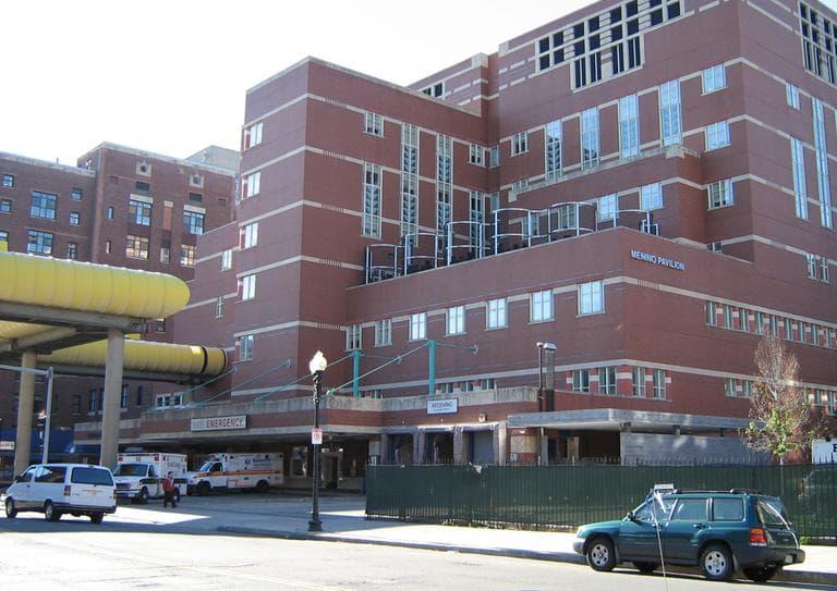 Boston Medical Center. (Wikimedia Commons)