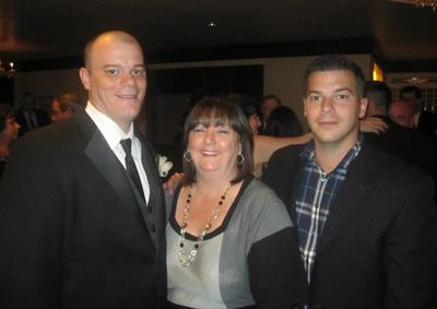 Brothers Paul Norden (left) and J.P. Norden (right) are pictured with their mother Liz Norden. (Facebook)