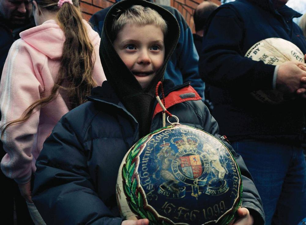 Shrovetide Football has been played in the English market town of Ashbourne for centuries. (Courtesy Photo)