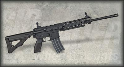 SIG Sauer's SIG516, an AR-15/M16-based rifle, is among the guns being raffled by the New Hampshire Association of Chiefs of Police. (SIG Sauer)
