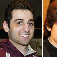 This combination of undated file photos shows Boston Marathon bombing suspects Tamerlan Tsarnaev, 26, left, and Dzhokhar Tsarnaev, 19. (The Lowell Sun and Robin Young/Here & Now)
