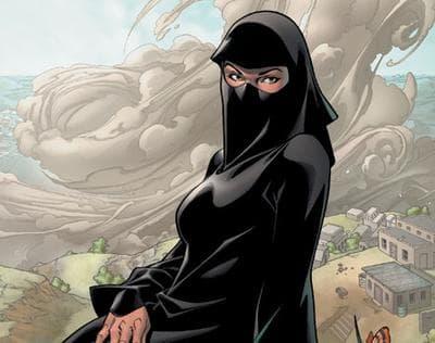 Dust (real name Sooraya Qadir) is a fictional X-Men character. (Marvel Comics)