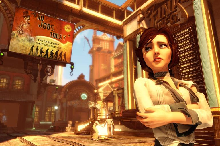 Screenshot from BioShock Infinite (Irrational Games)
