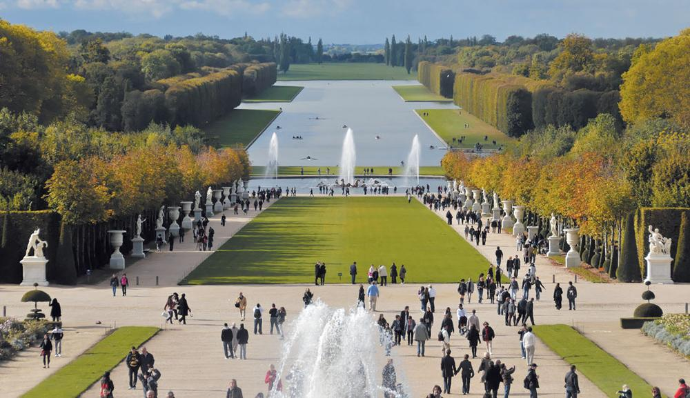 """""""Grand Prospect"""" at Versailles. (Jacques de Givry/Courtesy of Princeton Architectural Press)"""