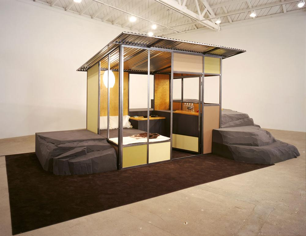 "Andrea Zittel's ""A-Z 2001 Homestead Unit II from A-Z West with Raugh Furniture."" (Courtesy of Andrea Rosen Gallery, copyright Zittel)"