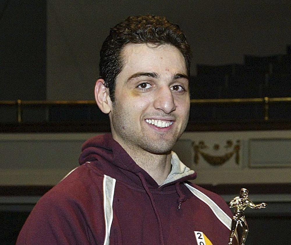 Bombing suspect Tamerlan Tsarnaev in 2010