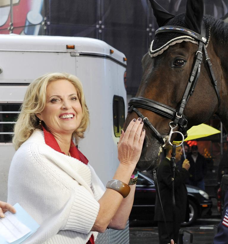 Ann Romney has said her love of horses helped her overcome her fear that multiple sclerosis would put her in a wheelchair. (Ida Mae Astute/Good Morning America)