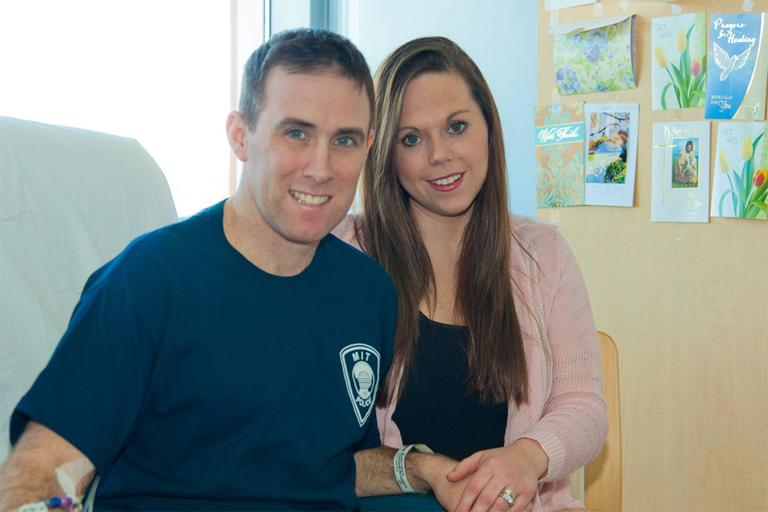 Officer Richard Donohue and his wife Kim (Transit Police)
