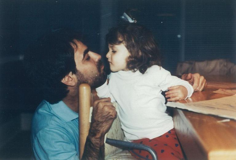Barry Kluger and his daughter Erica, who died in a car crash at age 18. (Courtesy: Barry Kluger)