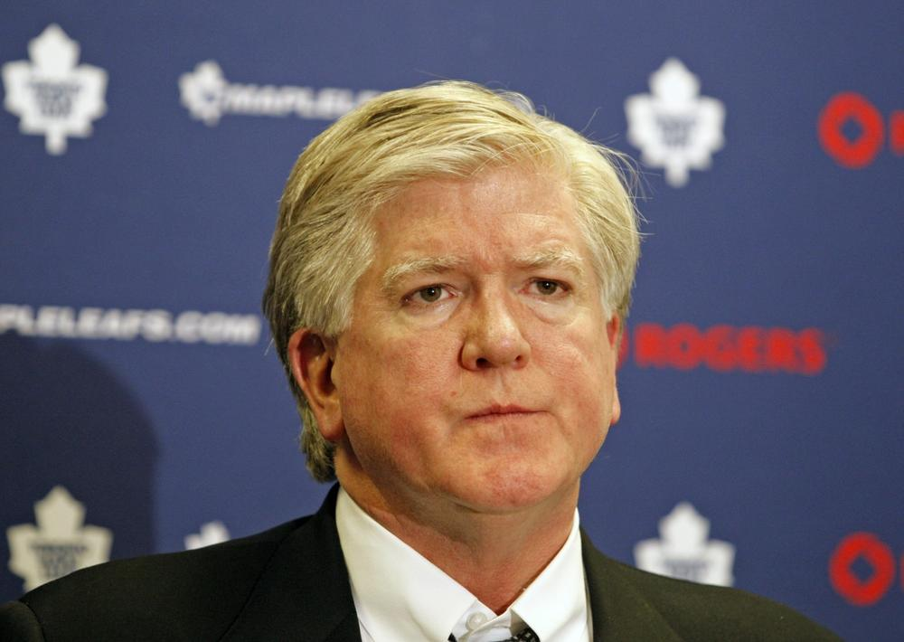 Former Toronto Maple Leafs General Manager Brian Burke founded the You Can Play Project with his son, Patrick, to promote a culture of tolerance in professional sports. (Tom Gannam/AP)