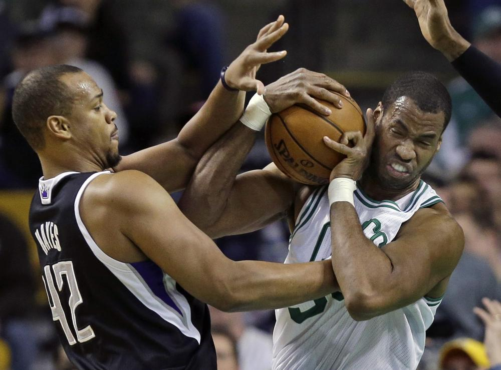 Former Boston Celtics center Jason Collins revealed his homosexuality this weekin a cover story for<em>Sports Illustrated</em>. (Elise Amendola/AP)