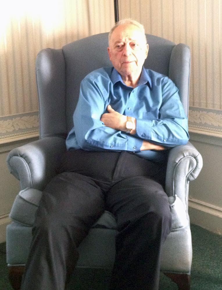 Peter Stefan, director of Graham Putnam & Mahoney Funeral Parlors, which will be taking care of Tamerlan Tsarnaev's funeral arrangements. (Deborah Becker/WBUR)