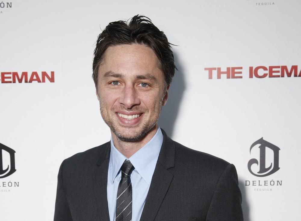 Actor Zach Braff. (AP)
