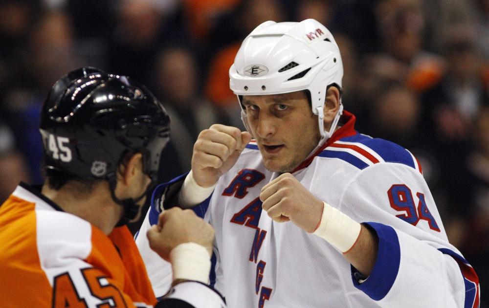 The family of deceased former NHL player Derek Boogaard has filed a wrongful death lawsuit against the league. (Matt Slocum/AP)