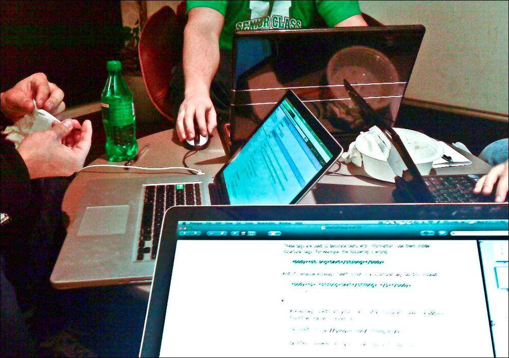 """Programming party."" (racheocity/Flickr)"