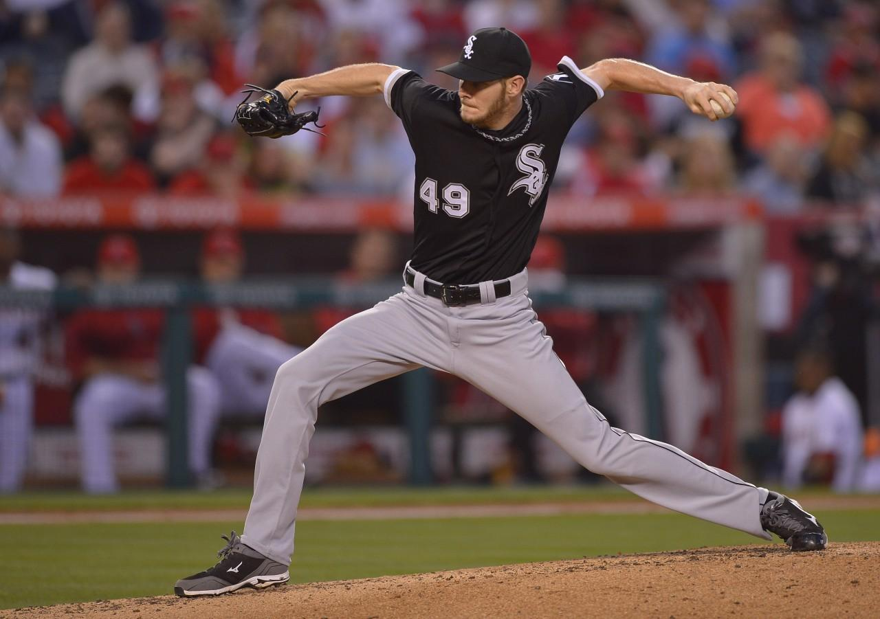 590f12743df Chicago White Sox Pitcher Chris Sale And His Insatiable Appetite ...