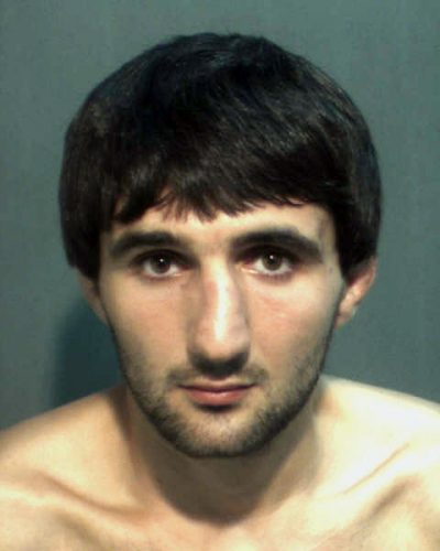 Ibragim Todashev, in a May 4 police mugshot provided by the Orange County Corrections Department in Orlando, Fla. (AP)