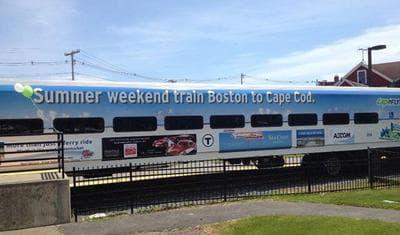The CapeFLYER train. (MBTA via Twitter)
