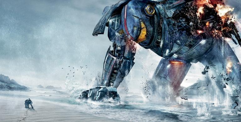 """A promotional image from Guillermo del Toro's film """"Pacific Rim."""" (Warner Bros. Pictures)"""