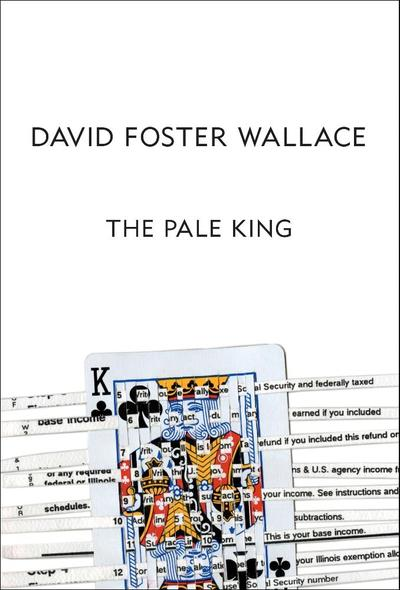"""Book cover image of """"The Pale King,"""" by David Foster Wallace. (Little, Brown and Company/AP)"""