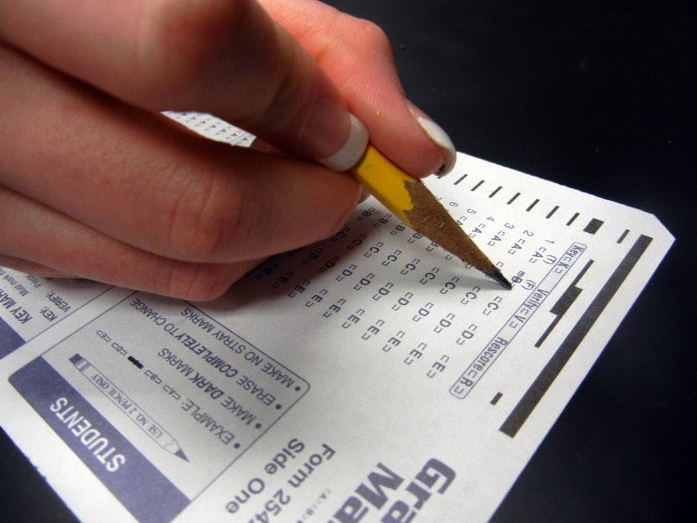 Standardized test up-close. (biologycorner/Flickr)